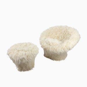 Mushroom Sessel von Pierre Paulin für Artifort, 1960er, 2er Set