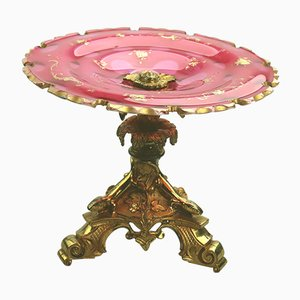 Antique French Glass Centerpiece