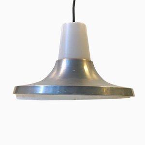 Lámpara colgante de aluminio de Nordisk Solar, años 70