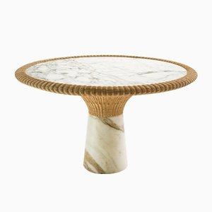 Tavolo da pranzo Amazonas in marmo di Giorgio Bonaguro