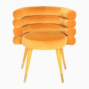 Sedia da pranzo Marshmallow arancione di Royal Stranger