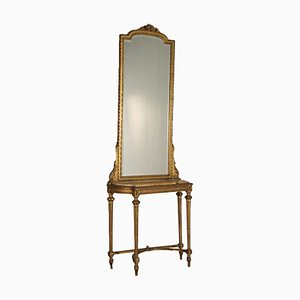 Vintage Neoclassical Mirror