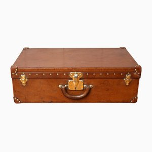 Leather Model Alzer 70 Suitcase from Louis Vuitton, 1920s