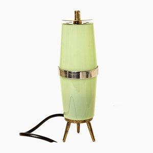 Italian Brass and Plastic Sputnik Table Lamp, 1950s