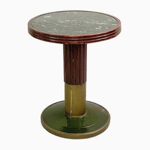 Mesa pedestal vintage de Joseph Hoffmann para Thonet, años 20
