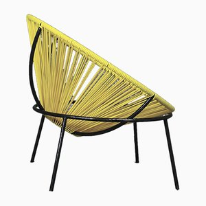 Mid-Century Iron and Plastic Bowl Chair by Lina Bo Bardi, 1951