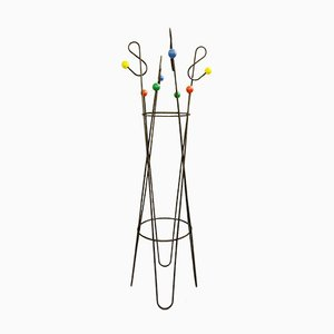 Model Clef De Sol Coat Rack by Roger Feraud, 1950s