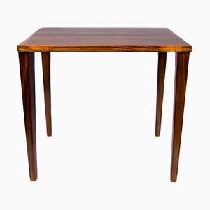 Mesa auxiliar vintage de palisandro