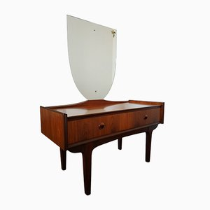 Mid-Century Scandinavian Rosewood Dressing Table, 1960s