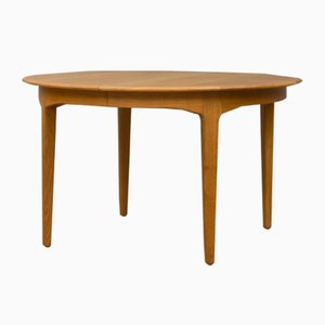 Table de Salle à Manger Modèle 62 à Rallonge en Chêne par Henning Kjærnulf pour Sorø Stolefabrik, années 60