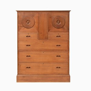 Antique Chestnut Cabinet by Ambrose Heal