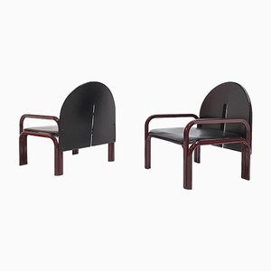 Model 54 L Armchairs by Gae Aulenti for Knoll Inc. / Knoll International, 1970s, Set of 2