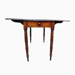 Antique Victorian Mahogany Pembroke Table, 1800s