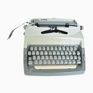 Typewriter from Consul, 1960s
