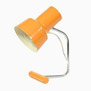 Orangefarbene Tischlampe von Josef Hůrka für Napako, 1960er