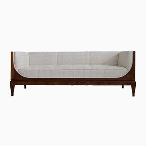 Sofá de caoba de Frits Henningsen, años 40