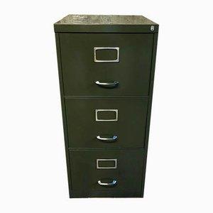 Vintage Metal Filing Cabinet, 1970s