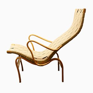 Model Pernilla 2 Lounge Chair by Bruno Mathsson for Firma Karl Mathsson, 1944