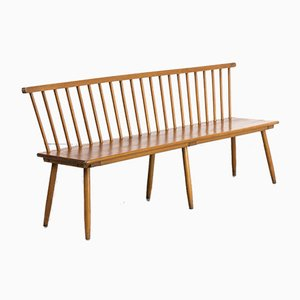 Wooden Bench from Bund, 1960s