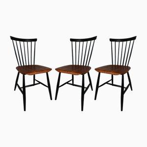 Esszimmerstühle von Sven Erik Fryklund für Hagafors, 1950er, 3er Set