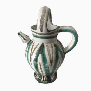 Mid-Century Ceramic Jug from Roger Picault