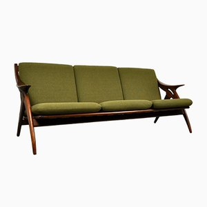 Mid-Century Dutch Teak Sofa from De Ster Gelderland, 1960s