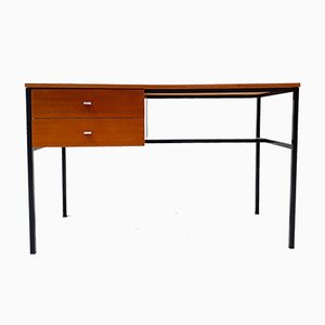 Model Student Teak Veneered Desk by Pierre Guariche for Meurop, 1950s