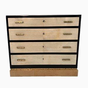 Art Deco Italian Parchment Dresser, 1930s