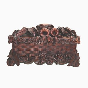 Antique Carved Box by Grinling Gibbons for Black Forest