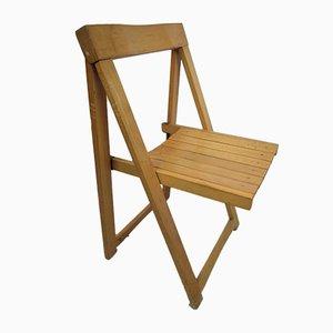 Italian Folding Chair by Aldo Jacober for Alberto Bazzani, 1960s