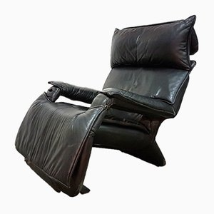 Leather Model Pony Lounge Chair by Percival Lafer for Lafer, 1980s