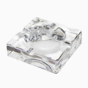 Glass Ashtray from Orrefors, 1960s