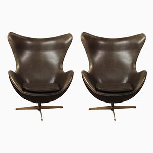 3316 Lounge Chair by Arne Jacobsen for Fritz Hansen, 1950s