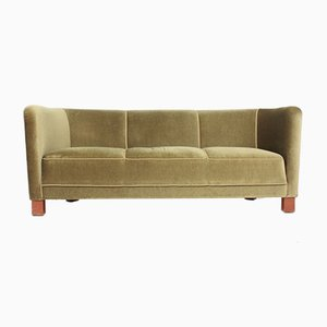 Mid-Century Danish Sofa from Fritz Hansen, 1940s
