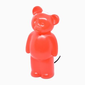 Veilleuse Modèle CL06-1 Red Bear de Blick Art Creativ, années 90