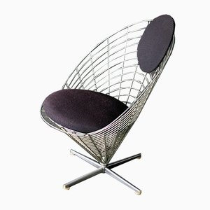 Wire Cone Armchair by Verner Panton, 1960s