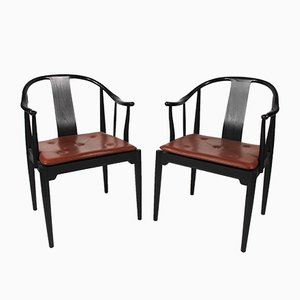 Dining Chairs by Hans Wegner, 1950s, Set of 2