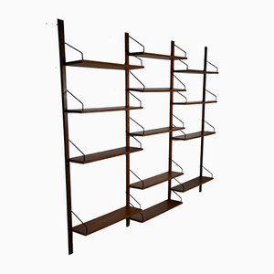 Mid-Century Wall Unit by Poul Cadovius for Royal Systeme, 1960s