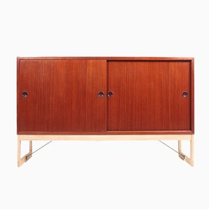 Mid-Century Teak and Oak Cabinet by Børge Mogensen for Karl Andersson & Söner, 1960s