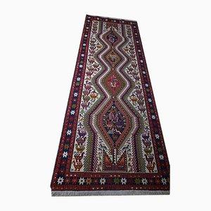 Alfombra Kilim de Oriente Medio vintage de lana, años 60