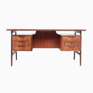 Dänischer Mid-Century Schreibtisch aus Palisander von Omann Jun, 1960er