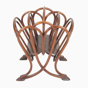 Antique Model No. 1 Magazine Rack from Thonet