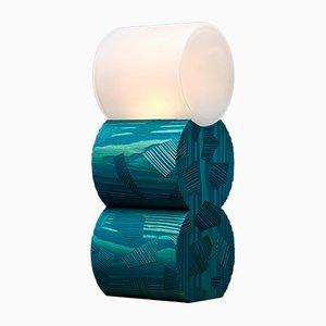 Lámpara de madera de pino de Ward Wijnant