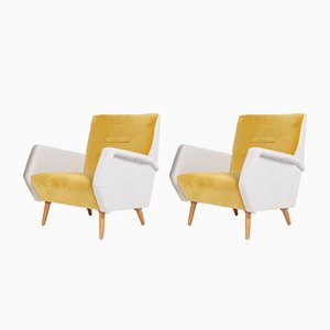 Mid-Century Lounge Chairs by Gio Ponti for Cassina, 1950s, Set of 2