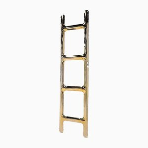 Drab Hanger In Gold Stainless Steel by Zieta