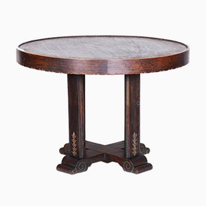 Art Deco & Oak Dining Table, 1920s