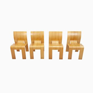Dining Chairs by Gijs Bakker for Castelijn, 1974, Set of 4