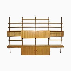 Oak Modular Wall Unit by Poul Cadovius for Cado, 1960s