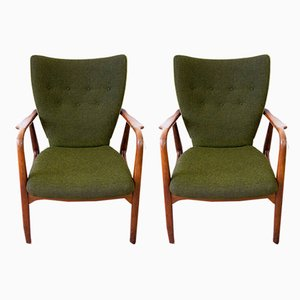 Lounge Chairs by Ib Madsen & Acton Schubell for Ib Madsen & Acton Schubell, 1950s, Set of 2