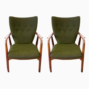 Sessel von Ib Madsen & Acton Schubell für Ib Madsen & Acton Schubell, 1950er, 2er Set